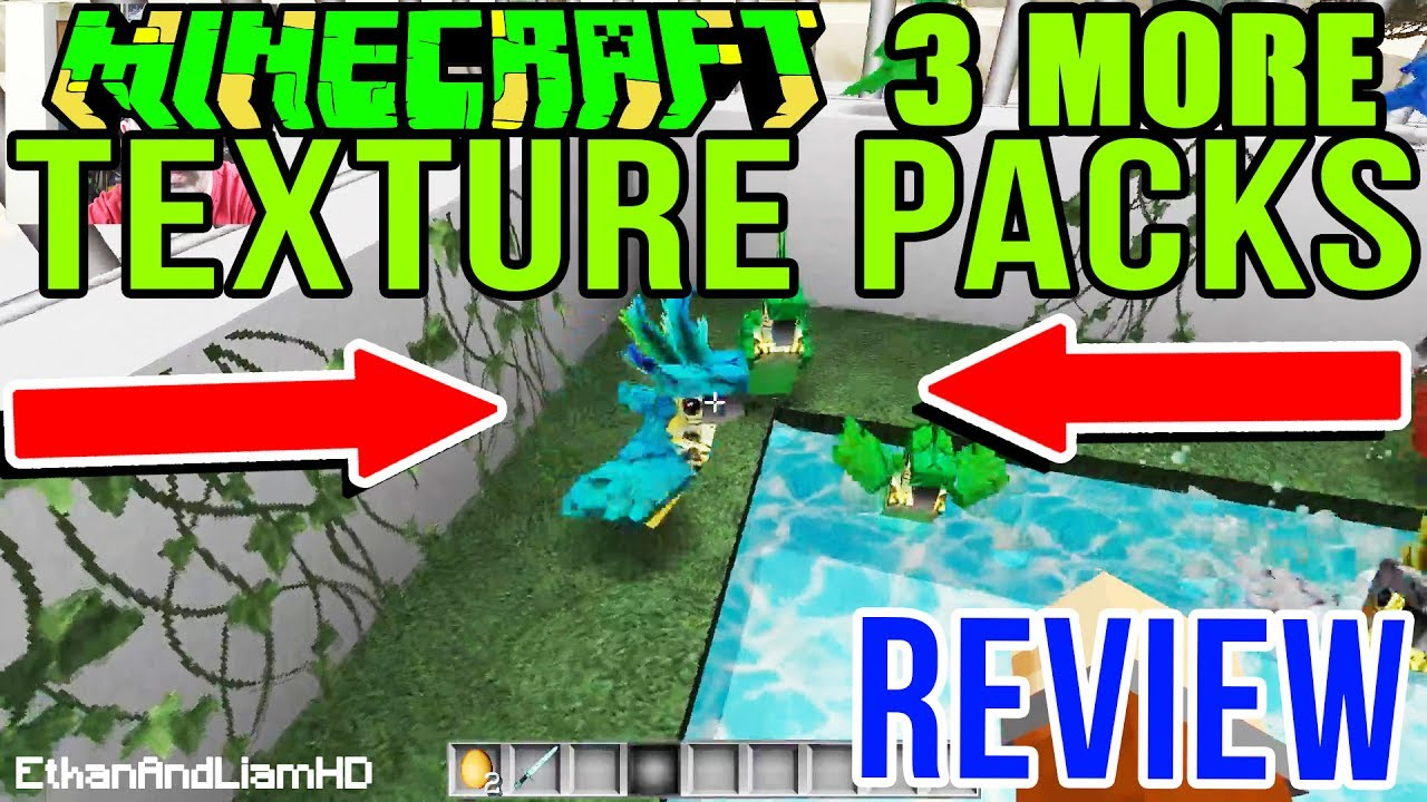 Minecraft Texture Pack Review # 2 + How To Install Tutorial - YouTube