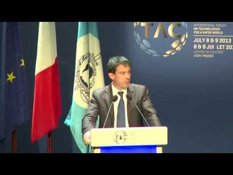 INTERPOL TECHNOLOGY AGAINST CRIME CONFERENCE - Ministre De l'Interieur francais
