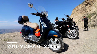 Is the 2016 VESPA GTS 300ie good for road trips? 100 mile trip to Pinal de Amoles