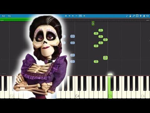 La Llorona - Coco Soundtrack - Piano Tutorial - Alanna Ubach, Antonio Sol