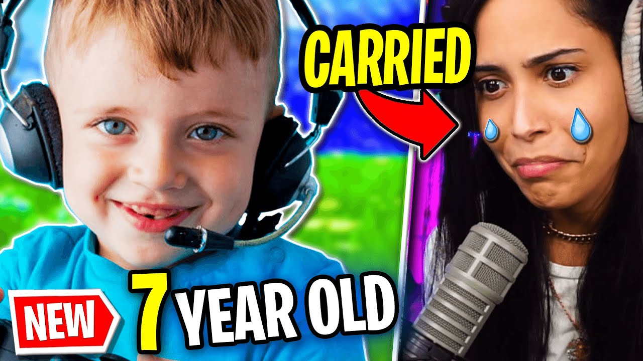 Download I Got Carried by a 7 Year Old (Fortnite - Battle Royale) Chica