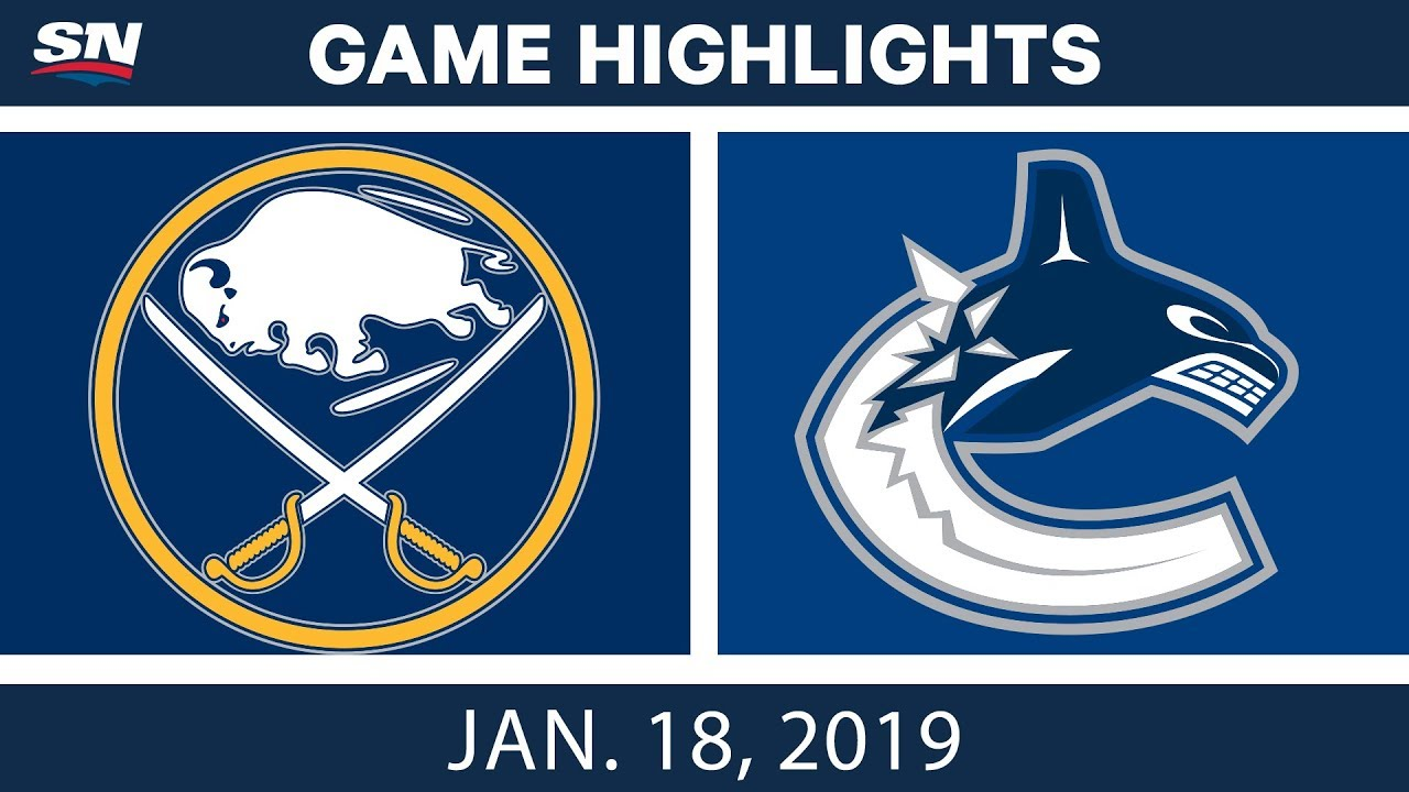 nhl-highlights-sabres-vs-canucks-jan-18-2019