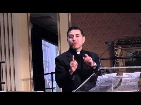 Rev Joe Angel Medina  Benediction at Governor