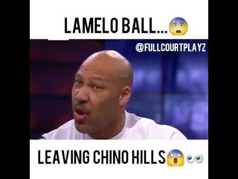 """Lamelo Ball leaving Chino Hills"" Lamelo Ball playing with new school"