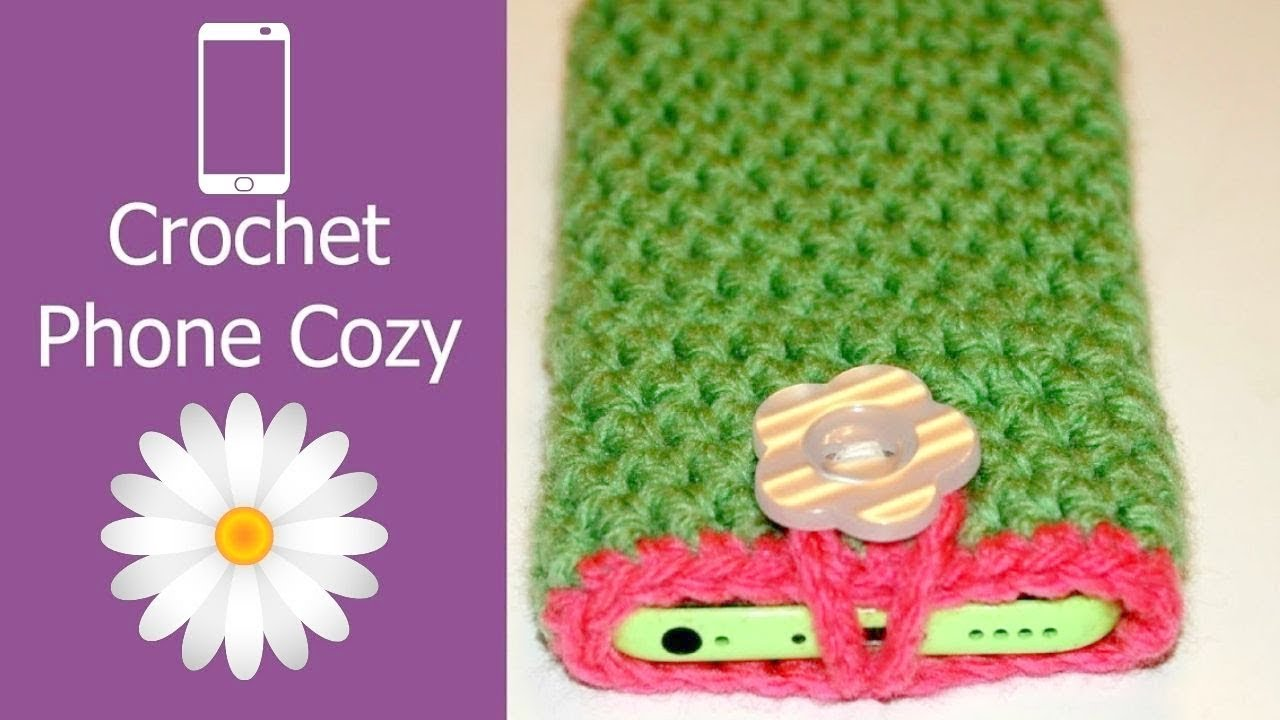 How to crochet a cell phone case holder iphone smartphone youtube how to crochet a cell phone case holder iphone smartphone dt1010fo