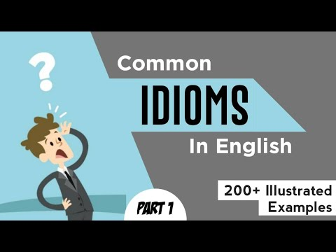 (Lesson-1) 200 Most important Idioms and phrases for Exams (English Vocabulary Tutorial)