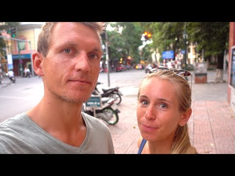First Day in Hanoi and in a beautiful Hotel! | german travel vlog
