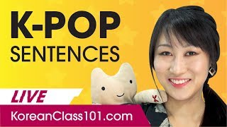 How to Build K-Pop Sentences in Korean