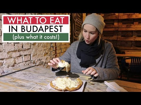 Hungarian Foods to Try | What I Ate in Budapest 🇭🇺