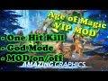 Age of Magic Ver. 1.9.2 MOD APK | One Hit Kill | God Mod | ON / OFF MOD