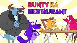 Bunty Ka Restaurant Ep - 85 - Pyaar Mohabbat Happy Lucky - Hindi Animated Cartoon Show - Zee Kids