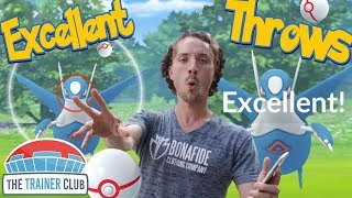 LATIOS Excellent Throws EVERY TIME! How To Hit More Excellents in Pokemon Go