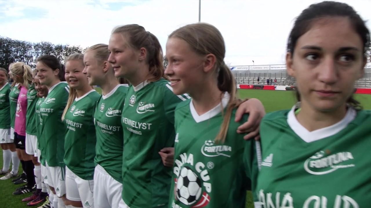 5a8f568a3d7 Dana Cup 2017 G17 Finale Fortuna Hjørring vs Langfjorden FK - YouTube
