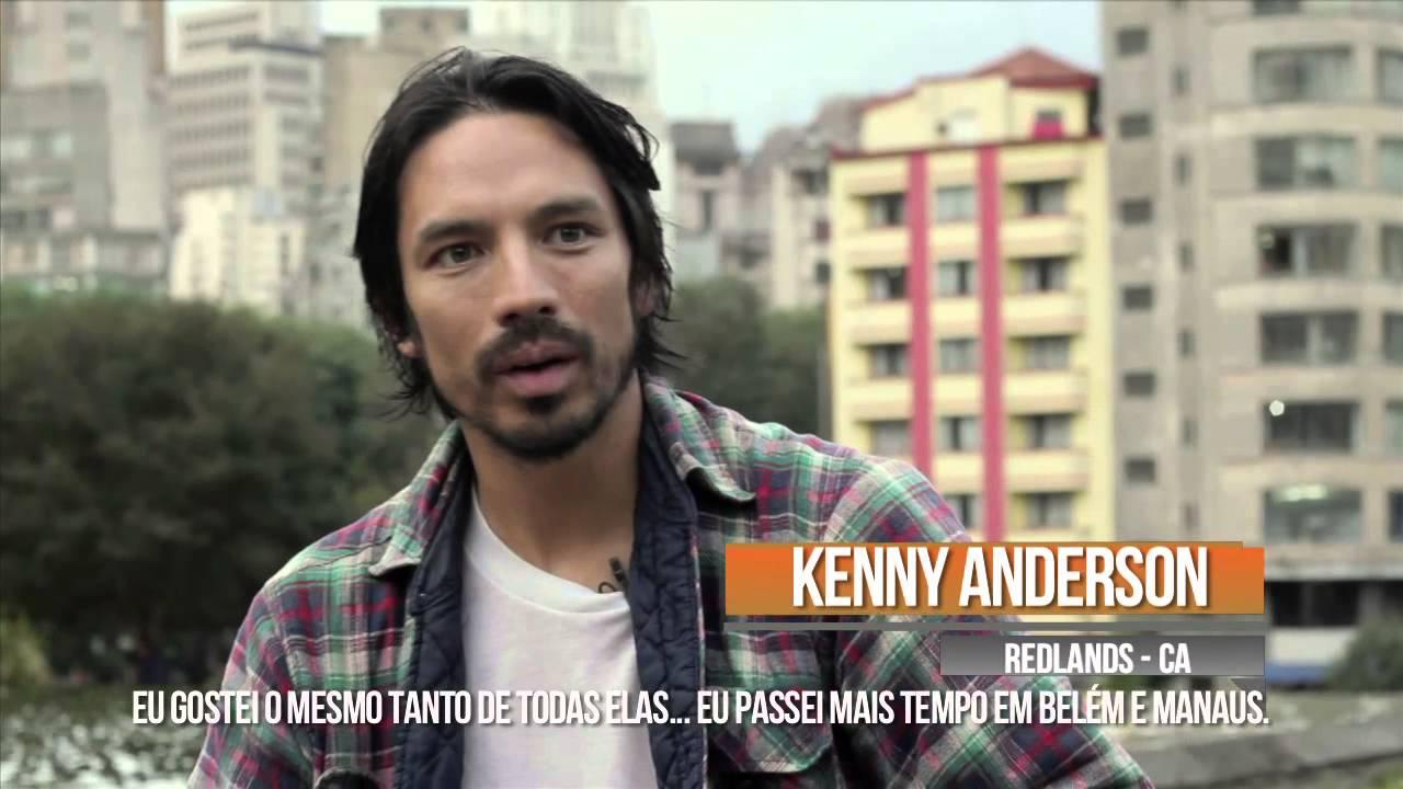 OLHO DE PEIXE Entrevista Kenny Anderson