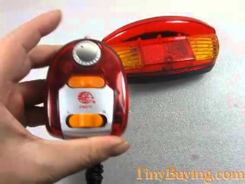 Bicycle Turn Signal Brake LED Light and Lamp Directional Control Switches [300214]