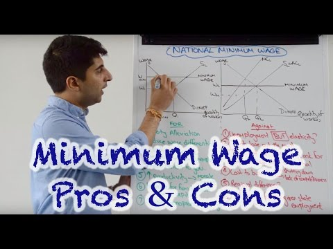 National Minimum Wage - Arguments For and Against With Evaluation