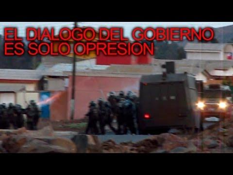 REPRESIÓN AL PUERTO DE HUASCO - MERECEMOS UNA VIDA DIGNA #NOPUNTAALCALDE