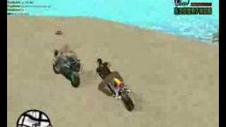 GTA San Andreas Bike Stunts (Video 3)