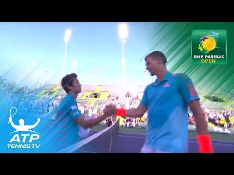 Yoshihito Nishioka stuns Berdych | Indian Wells 2017 Day 5
