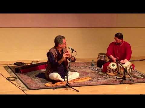 Indian Bamboo Flute & Tabla 2/3/18 Bengal Boatmens Bhatiali Style Music  बांसुरी  और तबला