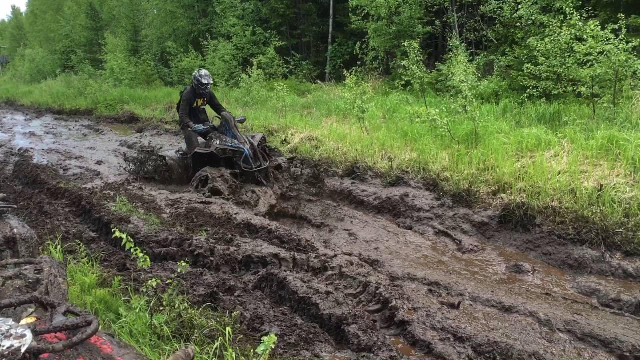 2017 Can Am 1000 >> Can-Am Renegade 1000 XMR mudding ! - YouTube