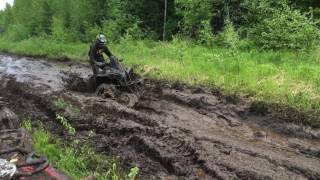 Video Can-Am Renegade 1000 XMR mudding ! download MP3, 3GP, MP4, WEBM, AVI, FLV Januari 2018