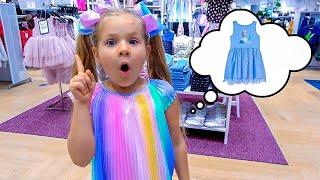 ダイアナとパパ、ドレスを買う!