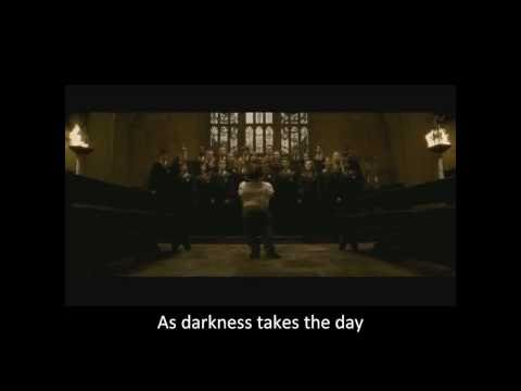 Harry Potter HBP Deleted scene - In Noctem (with lyrics)