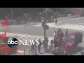 Woman killed after car plows into Times Square