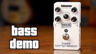 MXR Bass Compressor Demo