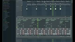 Hasta el Amanecer - Nicky Jam | FLStudio |  Instrumental (Alberto Erustes Prod.)