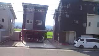 キハ110系快速おいこっと長野行き 十日町駅発車後車内放送