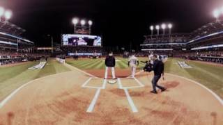 VR 360: World Series Game 1 starting lineups announced