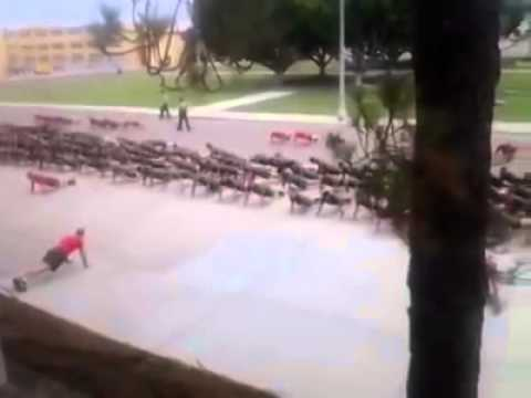 United States Marine Corps Push-Up Cadence