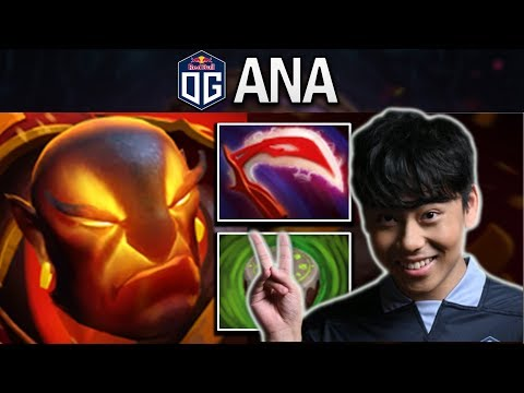 THE GAME THAT OG.ANA BUILT DESO ON EMBER SPIRIT TO END THE GAME FASTER - DOTA 2 PRO