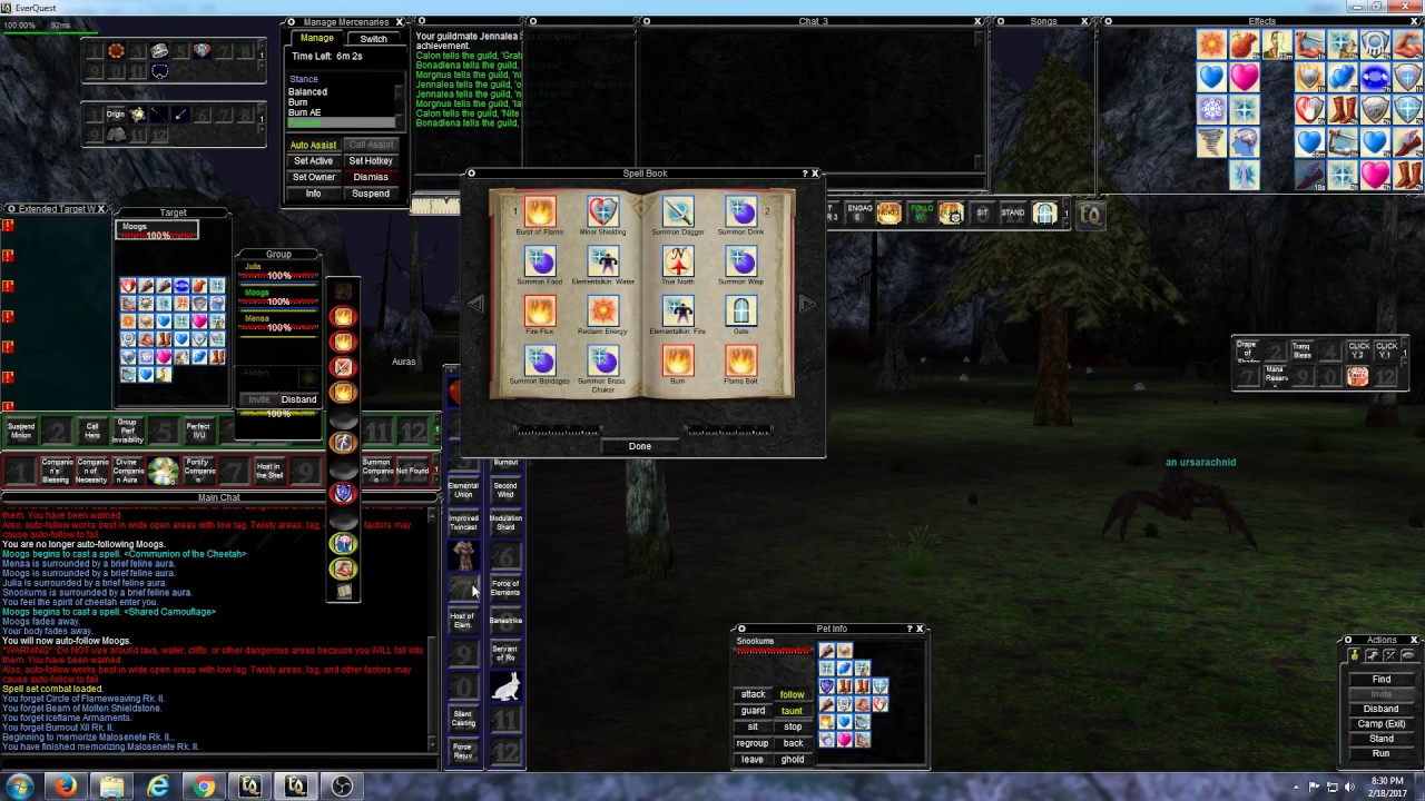 EverQuest - A Few Macros for Multi-boxing