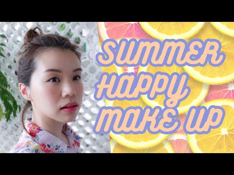 🍉👩🏻🎤O Camp番學適用 夏日快樂妝容 Summer Happy Makeup   西瓜 gwa.