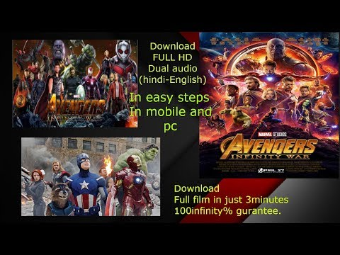 How To Download Avengers Infinity War 2018 Full HD Dual Audio (Hindi-English)Movie