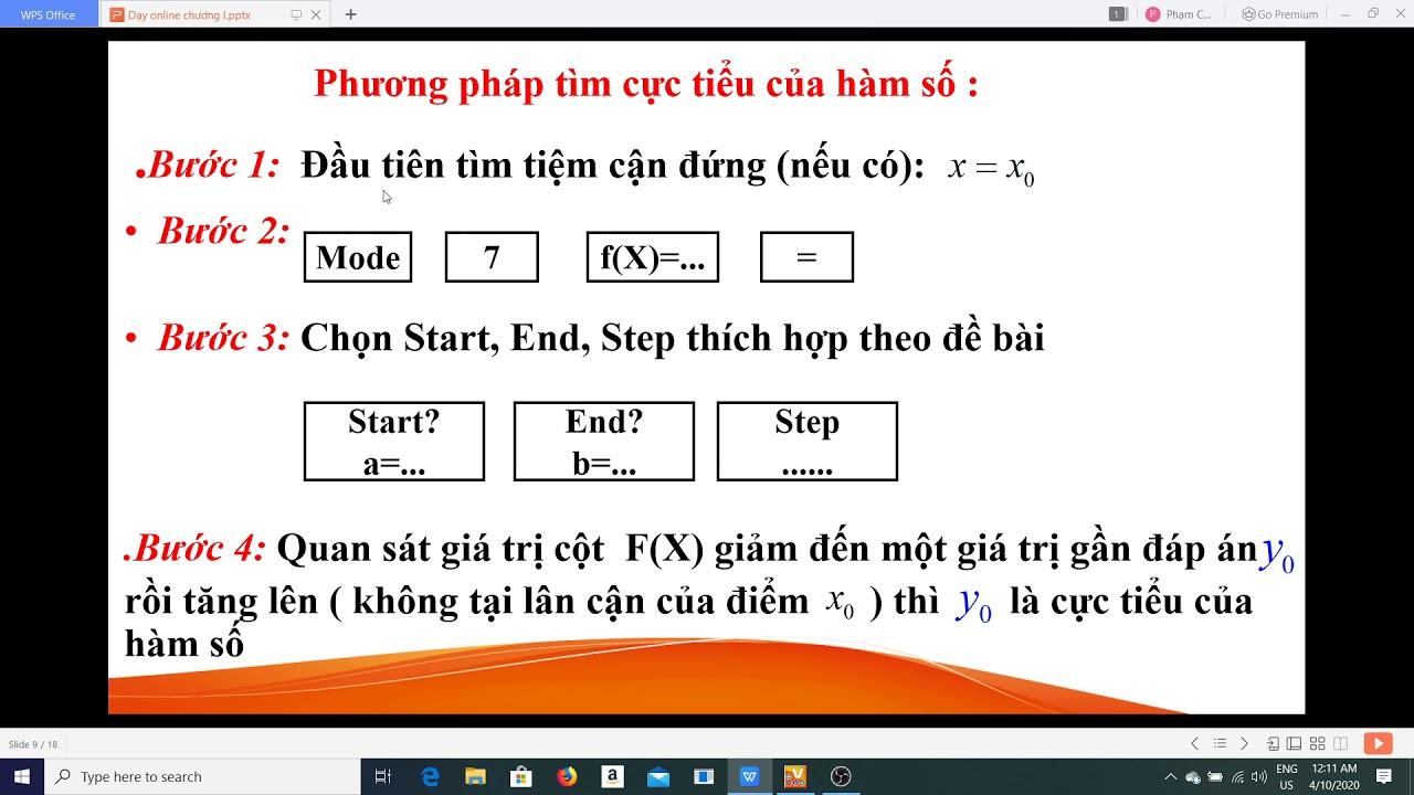 TOÁN LỚP 12 – Phương pháp giải một số dạng Toán KSHH bằng máy tính cầm tay.