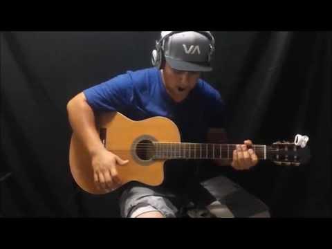 Spanish Guitar, New Flamenco Improvisation, Line 6 POD HD300 Loop and Solo