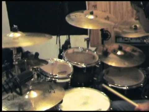 """My ex-band hacride """" to walk among them"""" on drums !! one shot, no edit !"""