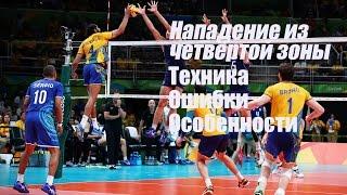 видео Волейбол - Нападение