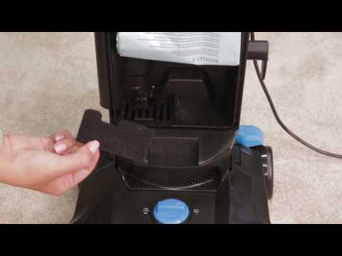 BISSELL PowerForce®  Bagged Cleaning the Filter
