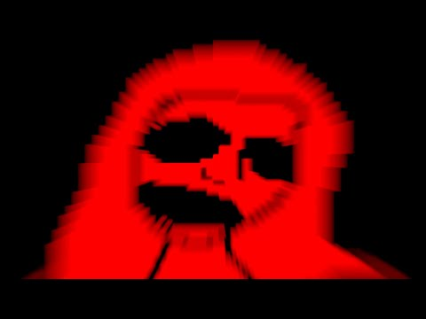 Scary Ghost Lady Stabs You With Pixels (scary)