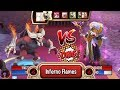 Monster Legends The Inheritor Level 130 Vs Llum Nemeses Combat Review mp3