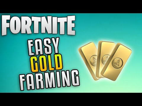 "Fortnite Save The World Best Gold Farming ""Fortnite How To Farm Gold"" Fortnite Easy Gold Farming"