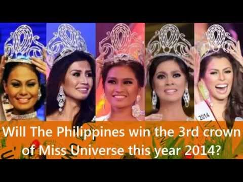 Will The Philippines win the 3rd crown of Miss Universe in 2014