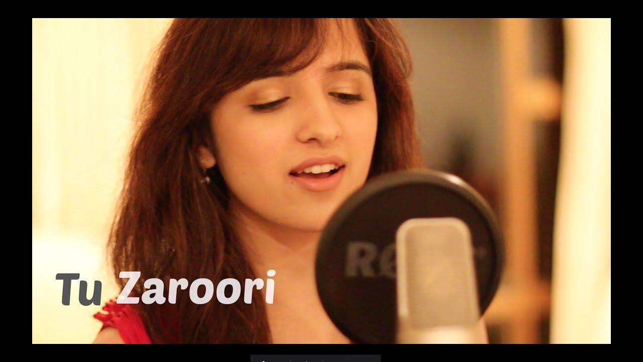 Download Tu Zaroori - Zid | Female Cover by Shirley Setia ft. Arjun Bhat | (Sunidhi Chauhan, Sharib - Toshi)