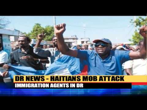 Haitians Mob Attack Immigration Agents In Dominican Republic