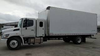 2019 Hino 268A with Sleeper and 24' BoxTruck-Walk Around